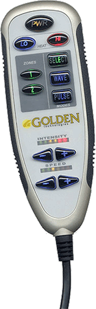 Golden Technologies Massage and Heat System for lift chairs.