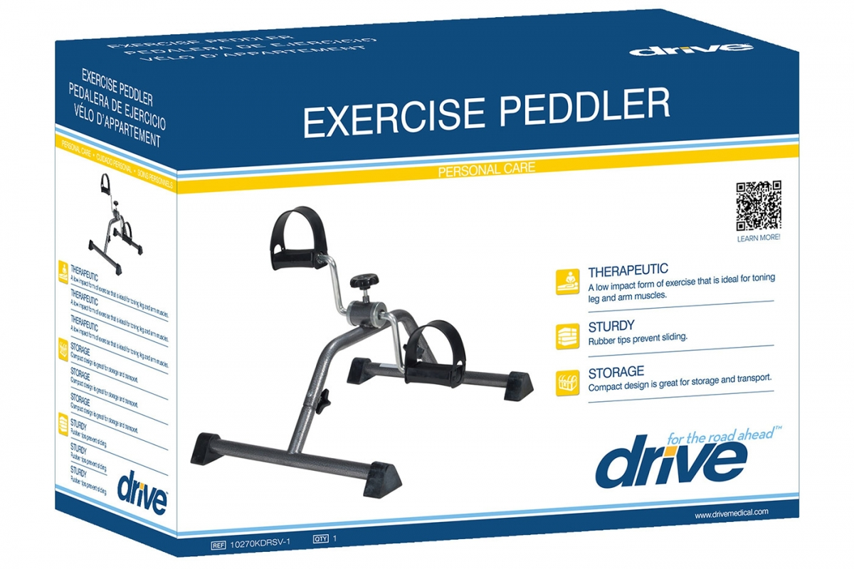 Exercise Peddler, Retail Packaging