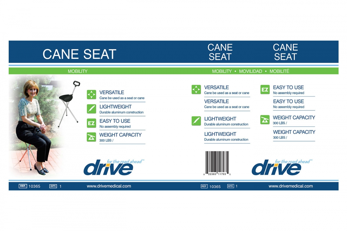 Cane Seat, Retail Packaging