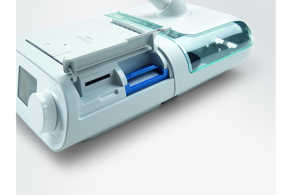 Philips Respironics DreamStation CPAP - side view
