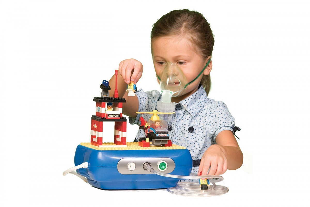 Townhouse Interactive Building Block Compressor Nebulizer from Drive DeVilbiss Healthcare