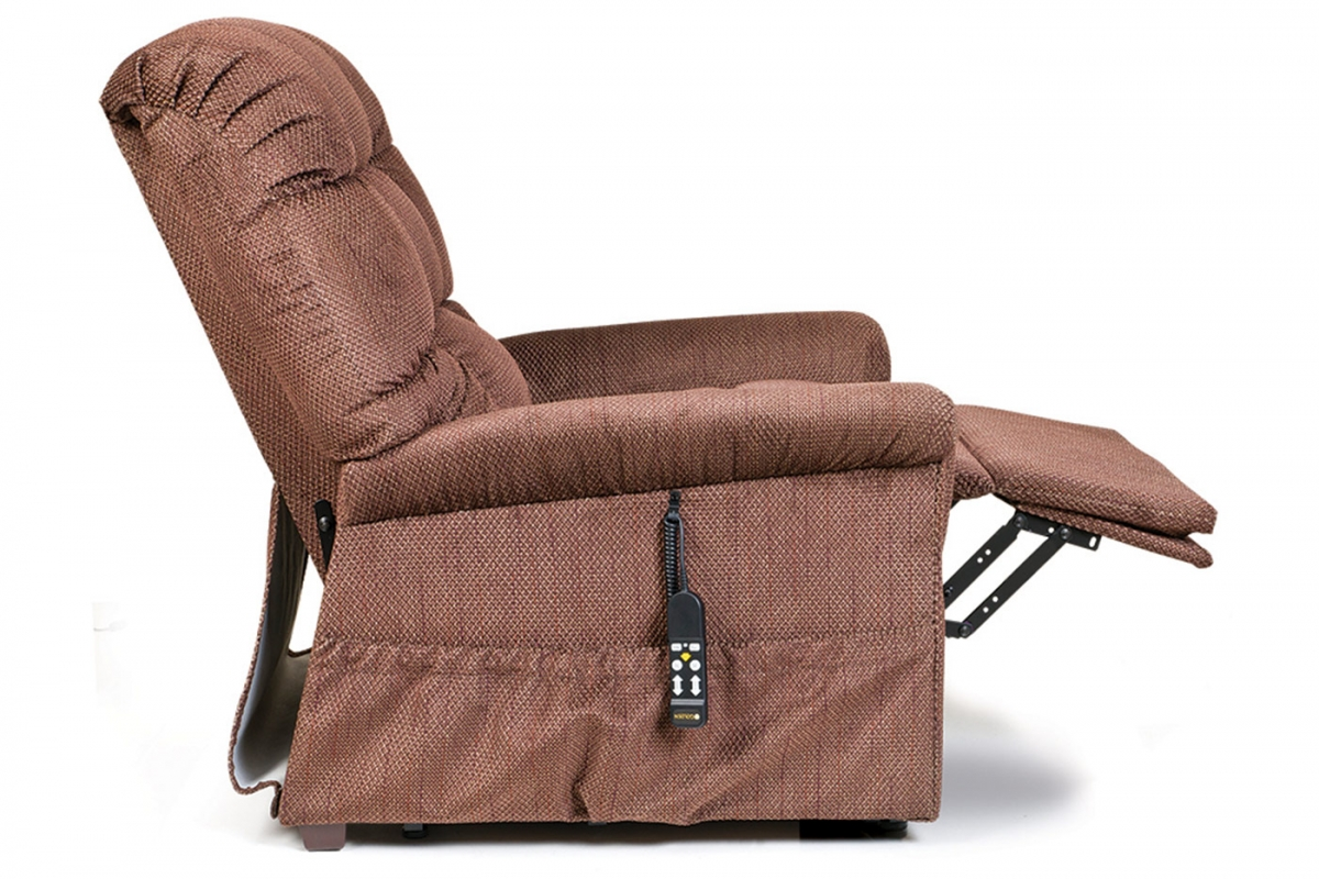 Golden Technologies MaxiComfort Cirrus Lift Chair PR-508 and Recliner Shown in Palomino Fabric
