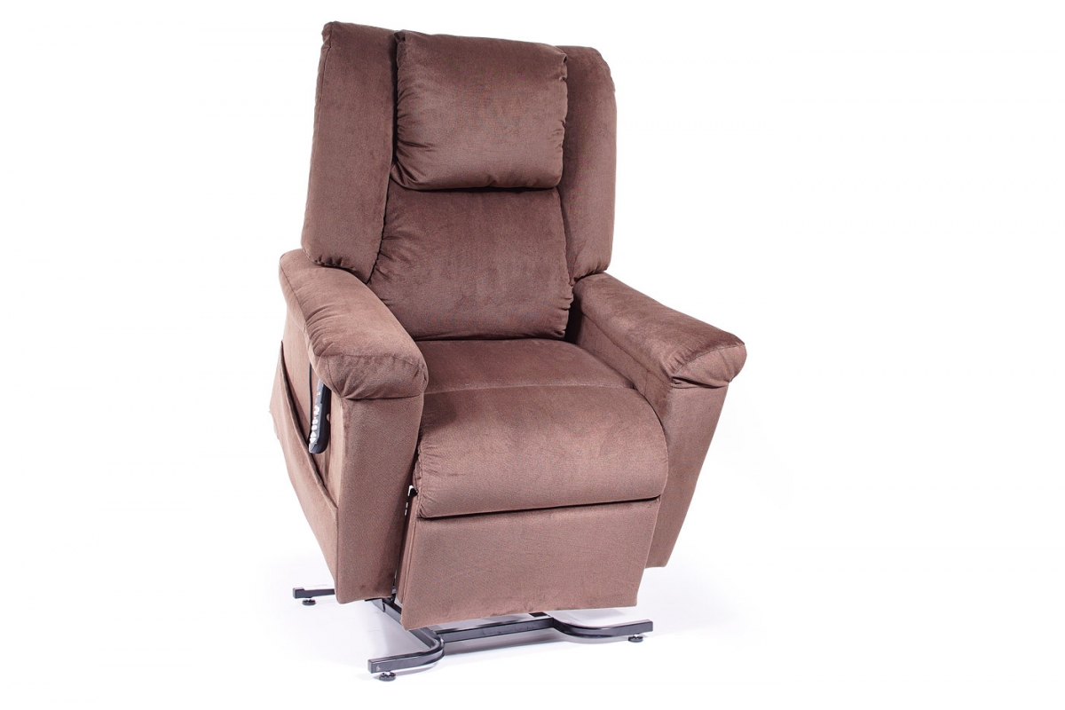 MaxiComfort Lift Chair & Recliner DayDreamer (Lifted) PR-630 Shown in Hazelnut