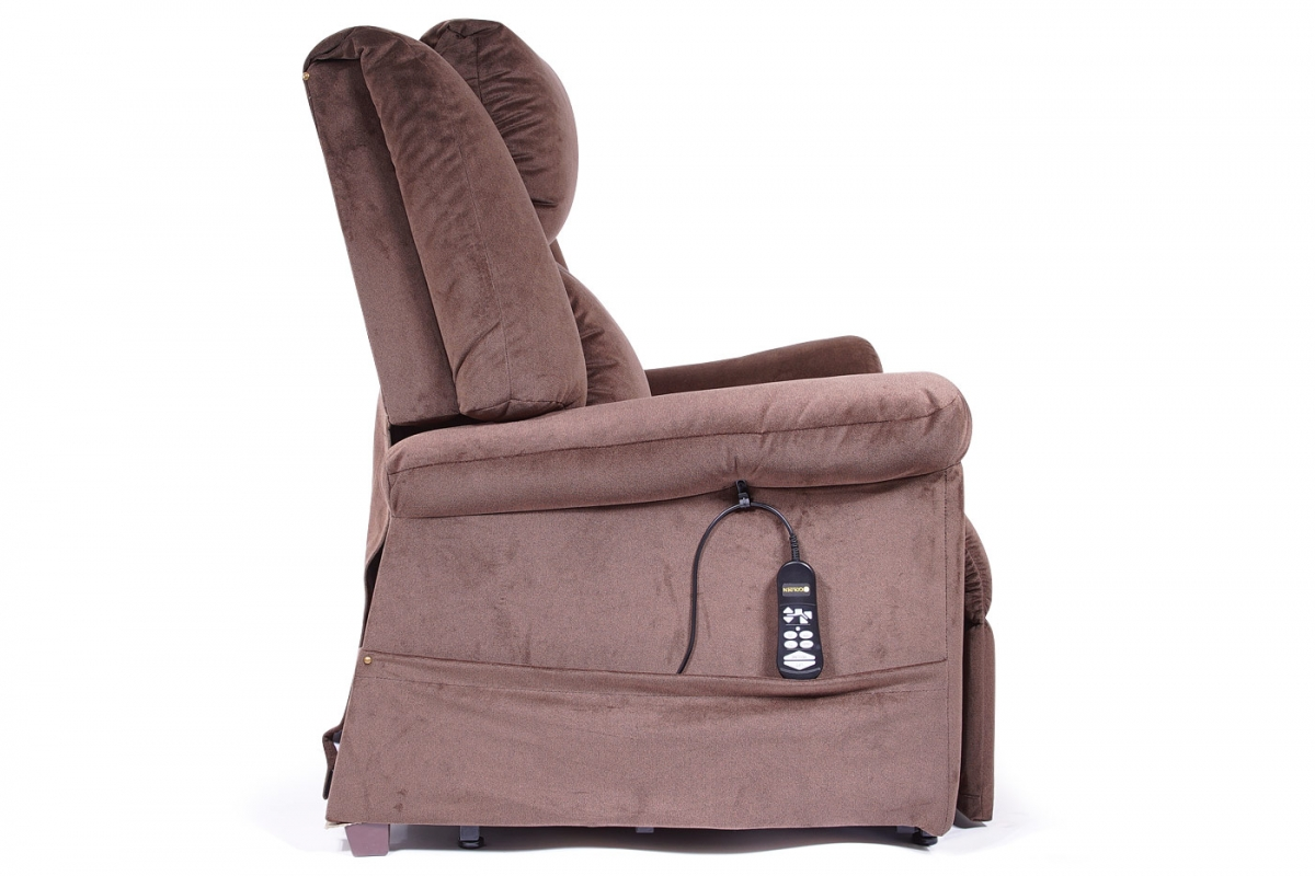 MaxiComfort Lift Chair & Recliner DayDreamer (Mid Pillow) PR-630 Shown in Hazelnut