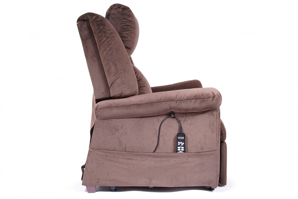 MaxiComfort Lift Chair & Recliner DayDreamer (Pillow Up) PR-630 Shown in Hazelnut