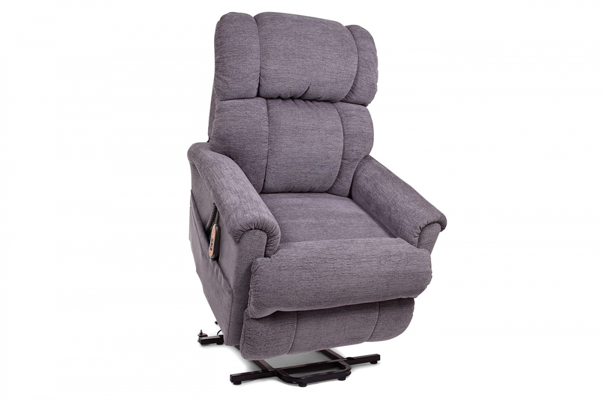 Golden Technologies PR931M Space Saver Lift Chair and Recliner in Anchor Color, Standing Position