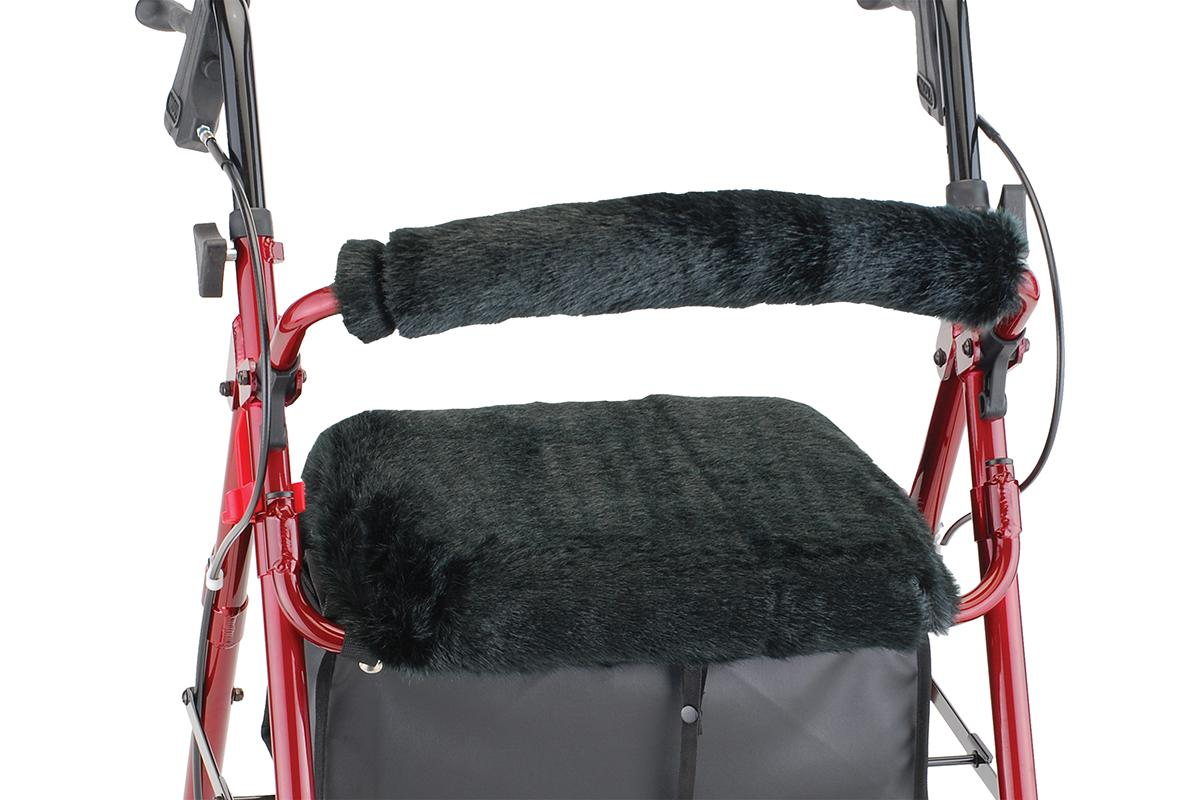 Seat and Back Cover - Black Puma