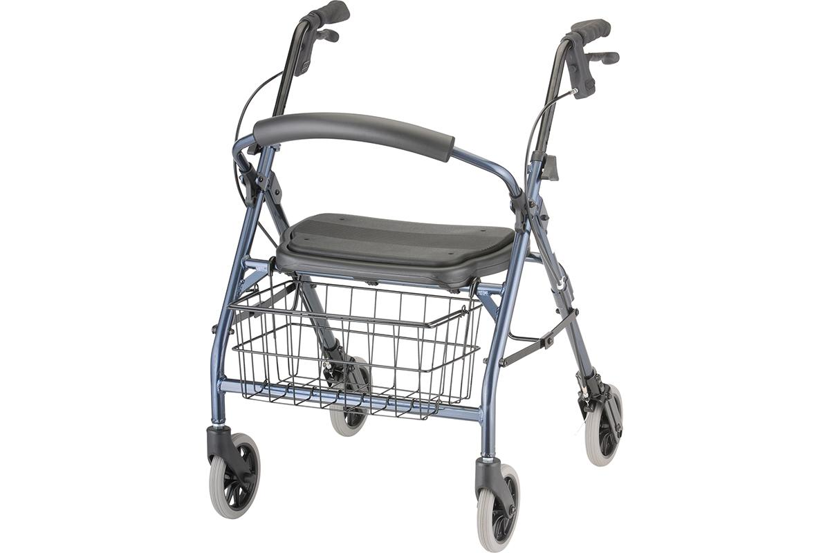 Cruiser Deluxe Junior Rolling Walker - Blue
