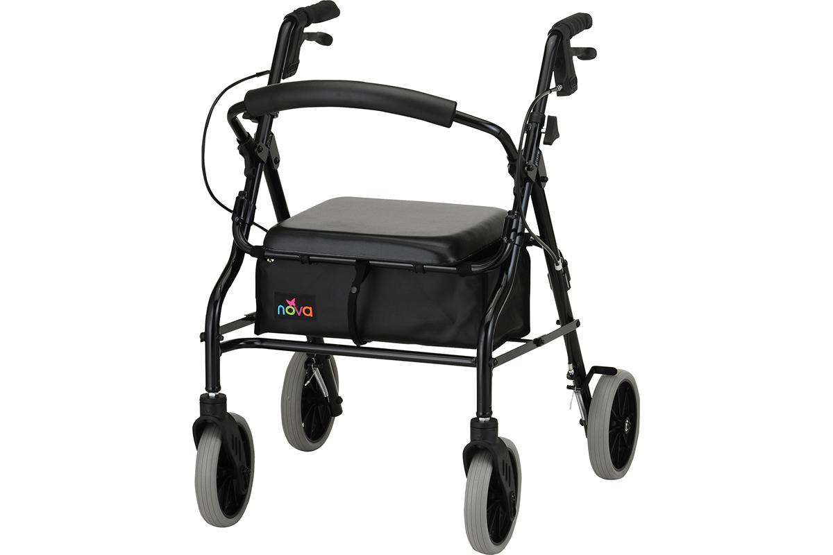 Zoom 20 Rolling Walker - Black