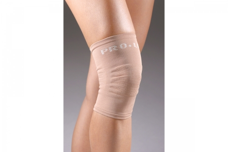 Knee Support Knitted Pullover - Beige