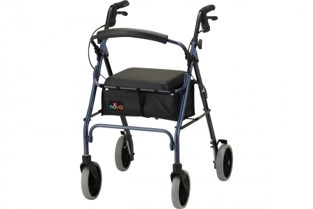 Zoom 24 Rolling Walker - Blue