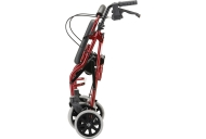 Zoom 20 Rolling Walker - Red, folded