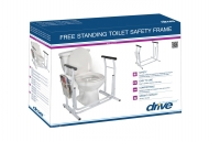 Free-Standing Toilet Safety Rail, Retail Packaging