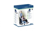 TranSport Aluminum Transport Chair from Drive DeVilbiss Healthcare, Retail Packaging